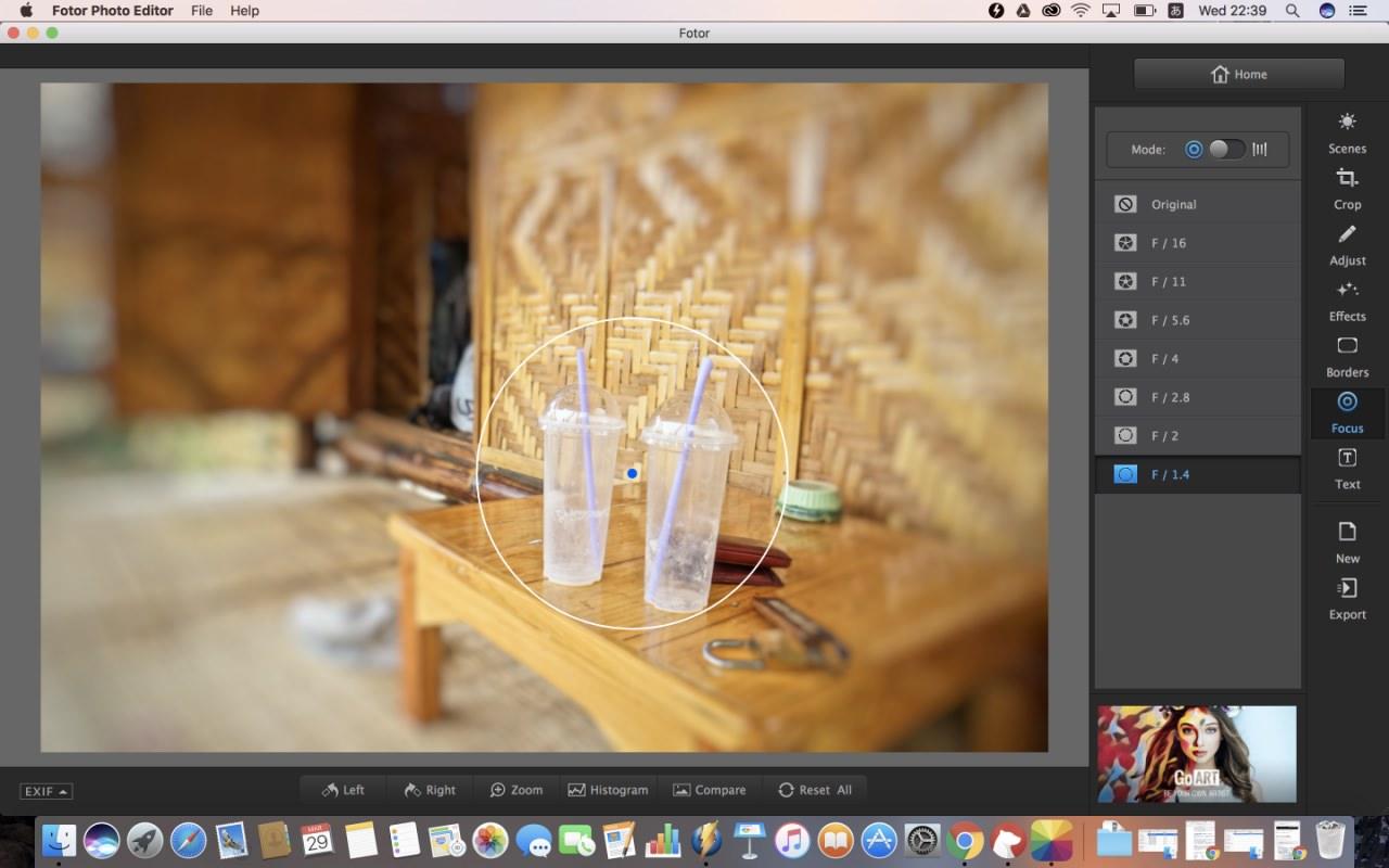 画像加工アプリFotorが写真も編集もへぼい私に十分すぎる